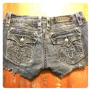 Rock Revival Denim Shorts